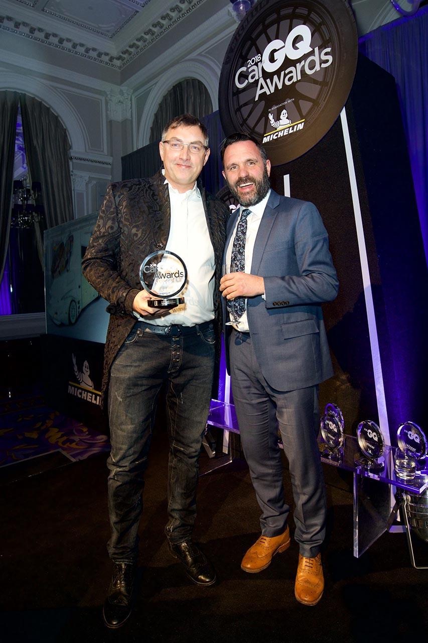 Übergabe GQ Award