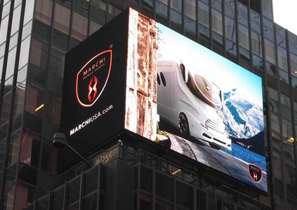 Marchi Mobile USA on Time Square